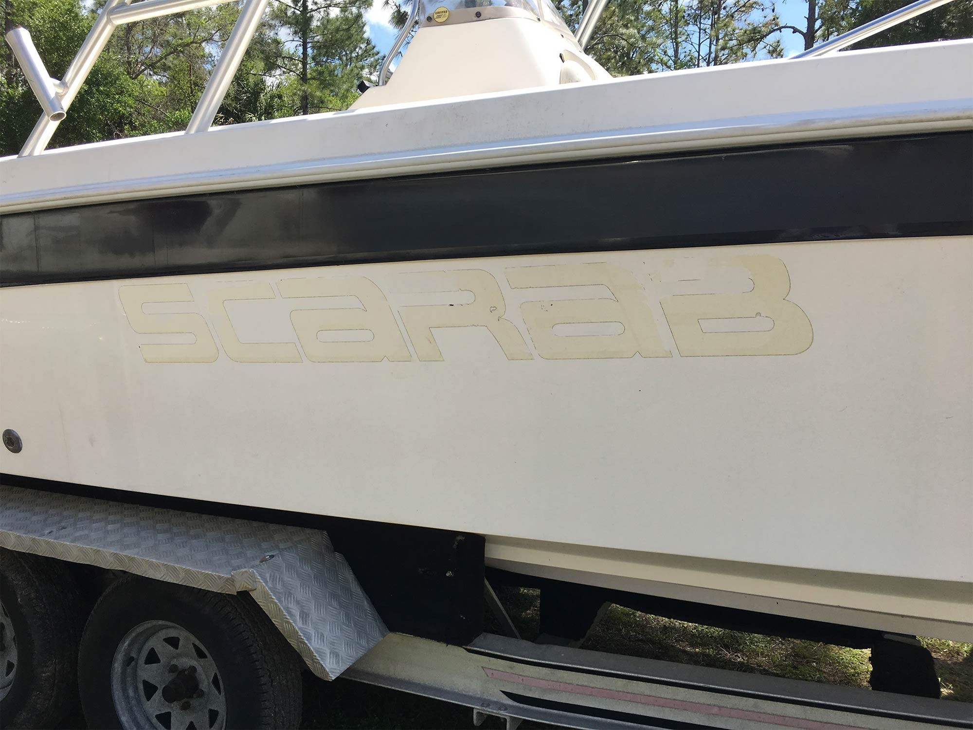 Restoration 1997 Wellcraft Scarab | Young Boats, Inc