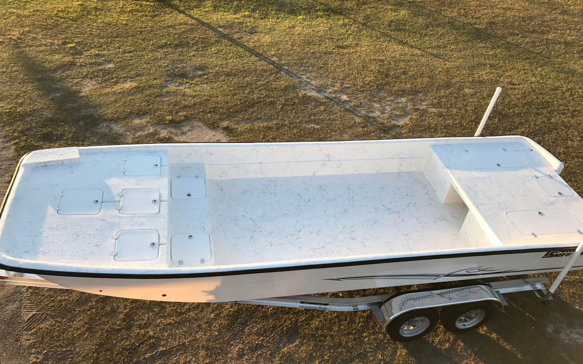 Restoration 2018 Carolina Skiff   Young Boats, Inc